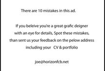 Job advertisement ideas