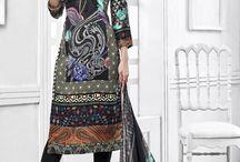 Soft Velvet Printed Salwar Suit