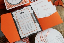 Tangerine Tango Orange Wedding / by Wiregrass Weddings