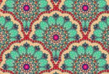 Pattern Design *¨¨ / Patterns | printed | #design #art