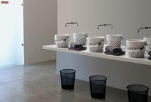 Lavabi da appoggio / Countertop washbasin / Una vasta gamma di lavabi bagno in eramica da appoggio su mobile o su piano.