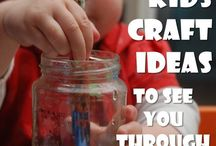 Kids crafts  / by Kristi Over