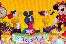 Mickey / O ratinho mais fofo do mundo repaginado para uma comemoração de 1 ano!