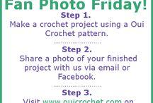Oui Crochet Fan Photo Friday