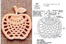 owoce wzory