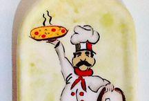 ceramic pizza plates