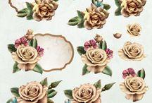 Ann's Paper Art 3D Decoupage / Decoupage sheets