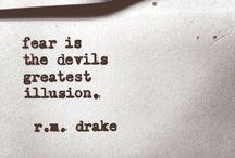 Poetry - rm drake