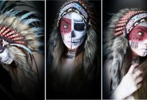 HALLOWEEN Costume Inspiration/ Indian Headdress Looks / Not long until our favorite time of the year: Halloween. Get inspired by our Indian Headdresses to create your individual feather headdress look!