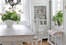White Deco / How to decorate in white, white furniture