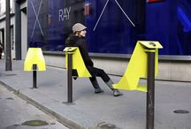 Street furniture and design / People together