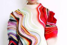 shapes, colours & textures