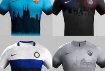 Kity stroje piłkarskie