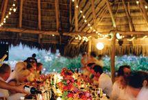 wedding decor and flowers