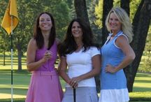Golf Dresses / A golf dress is a chic way to go from the office to the golf course then to the 19th hole (our fav hole) for a cocktail with friends. / by Golf4Her