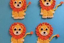 Crochet 'appy Appliques