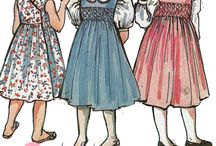Patterns for Classic Children / printed sewing patterns for children's clothing