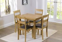 Dining Sets / Solid Wood, Glass & Marble Dining Sets