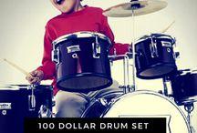 100 dollar drum set