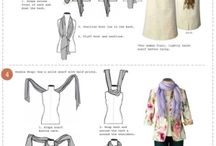 Beautiful scarves and ways to wear them!