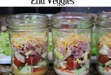 Salad In A Jar / How to Pack