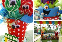 Monster Party Ideas / by Luma Bastos