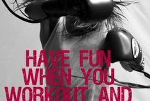 Fitness and motivation / by Jordynn Hargrove
