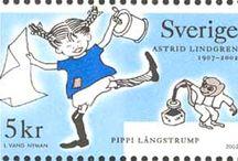 Stamps; Skandinavia
