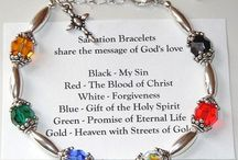 salvation braclet / by Dorothy Maffei