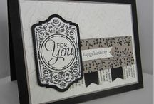 Stampin' Up Chalk Talk Stamps and Framelits Dies