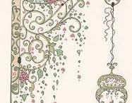 Art - zentangles with Eilish