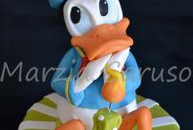 Mickey, Minii a kačer Donald.