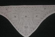 krajka / paličkování,pletení