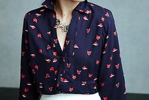 shirt and blouse print ideas