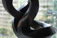 abstraction sculptures