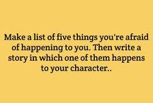 Writer stuff + books
