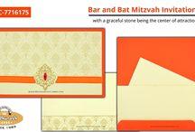 BAR & BAT-MITZVAH CARDS / Bar & Bat-Mitzvah Cards Invitation Cards