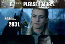 The LOTR and The hobbit funny