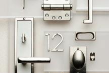 Decorative Hardware/Details Maison / Pulls, knobs, house numbers, etc