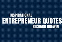 Entrepreneur Quotes / Stay inspired with these entrepreneur quotes written by Richard Brewin, Director of Academy For Growth. If you're an accountant and looking for inspiration, these should give you a boost!