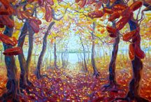 Autumnal Art / Autumn is a stunning time of years, with beautiful reds, oranges and yellows.