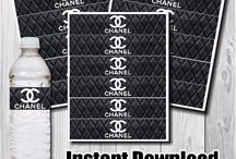 Chanel Party Theme