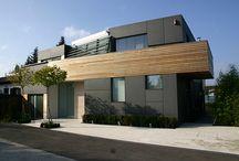 Spezial-Fassaden / Fassaden mit fibreC oder Max Exterior-Platten