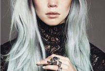 ChEvEux Gris-Silver Hair / Coloration-Haircolor