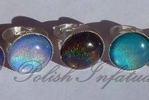 Nail polish rings