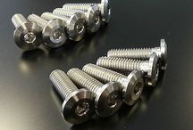 titanium motorcycle parts / high quality titanium motorcycle bolts nuts
