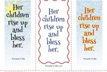 Mother's Day Activities / We have some great activities related to Mother's Day and helping children learn what the Bible says about mothers. Kids will enjoy these engaging activities as they think about their mothers.