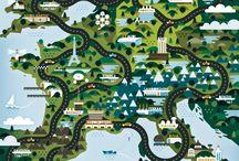 Maps & Infographics / by Studio:Pop