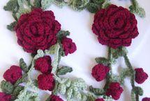 fiori all' uncinetto