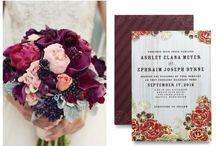 Wedding - Maroons & Burgandy / Maroon, Burgandy & Berry Tones Wedding Ideas